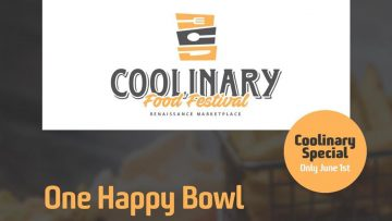 COOLinary Food Festival | June 1ste